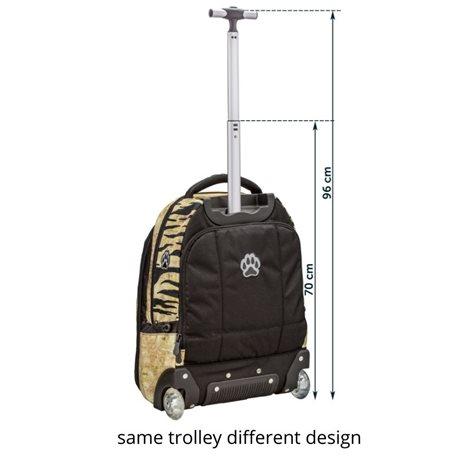 Trolley rugzak Landkaart