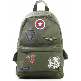 Rugzak Badge and Patch - Green-Skooter
