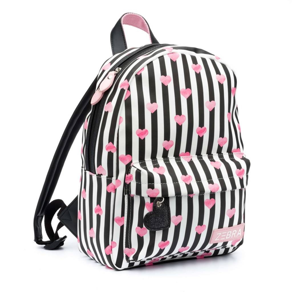 fae6291585e Schooltas | meisjes rugzak Stripe & Hearts kopen bij StoereKindjes