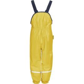 bretel regenbroek geel