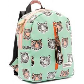 Meisjes Rugzak Tiger Mint -S Zebra Trends