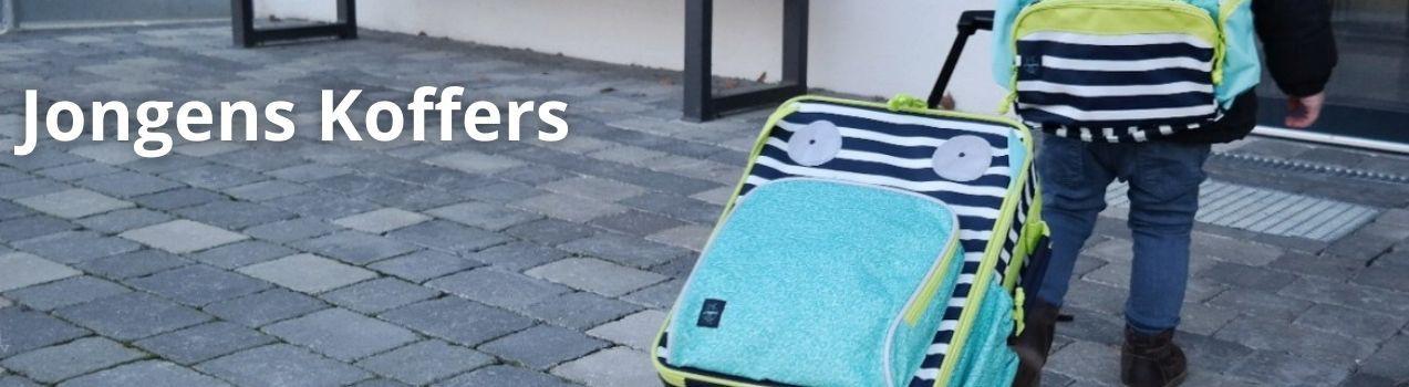 Jongens Koffers | Jongens trolleys koop je online bij StoereKindjes